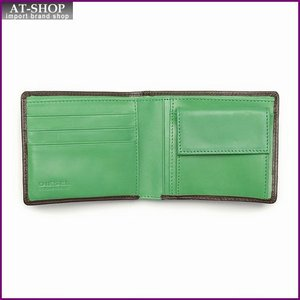 ディーゼル 財布 DIESEL X03141 PR378 H5548 二つ折り財布 コーヒービーン/ジェリビーン|at-shop