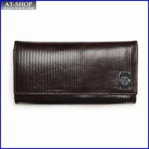 ディーゼル 財布 DIESEL X03266 P0093 T2189 折長財布 シールブラウン at-shop