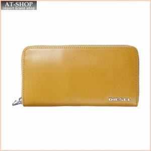 ディーゼル DIESEL X03360 PR378 H5695 ラウンドファスナー長財布 Inca Gold/Decadent Chocolate|at-shop