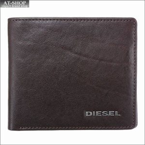 ディーゼル DIESEL 二つ折り財布 X03363 PR013 H6030 Coffee Bean/Olive Night|at-shop