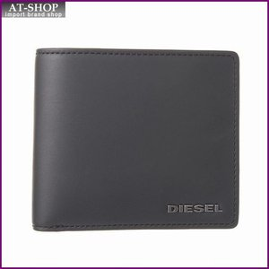 ディーゼル DIESEL X03363 PR478 H5856 二つ折り財布 ANTHRACITE/GR|at-shop