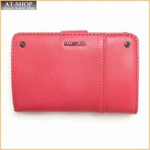 DIESEL ディーゼル 財布 二つ折り財布 X03498 PR030 T4054 Virtual Pink|at-shop