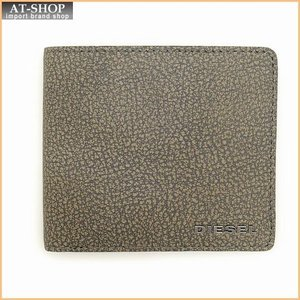 DIESEL ディーゼル 財布 二つ折り財布 X03617 P0396 T8077 Wild Dove|at-shop