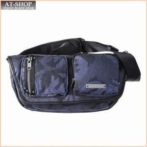 ディーゼル DIESEL X03783 P1106 H6079 ベルトバッグ Blue Camou/Black|at-shop