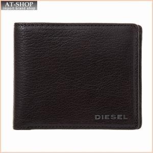 ディーゼル DIESEL X03925 PR271 T2189 二つ折り財布 Seal Brown|at-shop