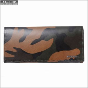 ディーゼル 財布 DIESEL  X04129 P1074 H5477 長財布 Camouflage/Black|at-shop