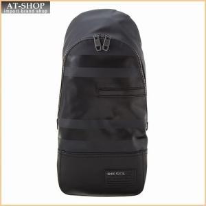 ディーゼル DIESEL バッグ X04226 P1105 T8013 ボディバッグ Black|at-shop