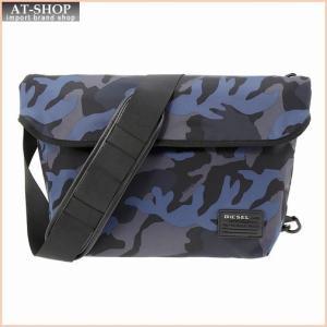 ディーゼル DIESEL X04326 PR027 H6095 ショルダーバッグ Blue Camou|at-shop