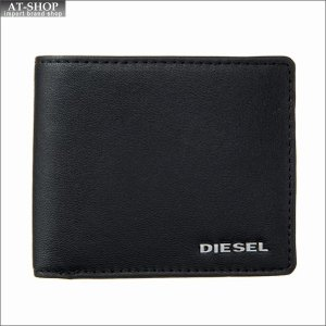 ディーゼル DIESEL 二つ折り財布 X04459 PR227 H6586 Black-Orange Pepper|at-shop