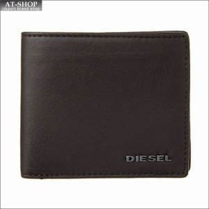 ディーゼル DIESEL 二つ折り財布 X04459 PR227 H6607 Brown-Freesia Yellow|at-shop