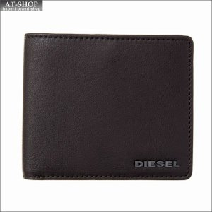 ディーゼル DIESEL 二つ折り財布 X04459 PR227 H6709 Coffee Bean-Imperial Blue|at-shop