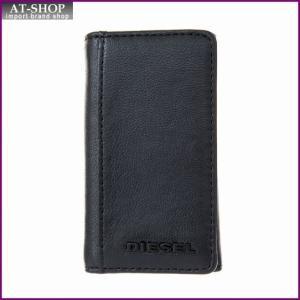 ディーゼル DIESEL X04462 PR227 H3350 キーケース Black-Blazing Yellow|at-shop