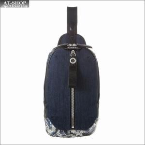 ディーゼル DIESEL バッグ ボディバッグ X05190 P1530 H6562 Blue Indigo Denim-Blue Camoufl|at-shop