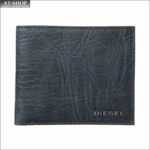 ディーゼル DIESEL 二つ折り財布 X05351 P1683 H6712 Legion Blue-Butterum|at-shop