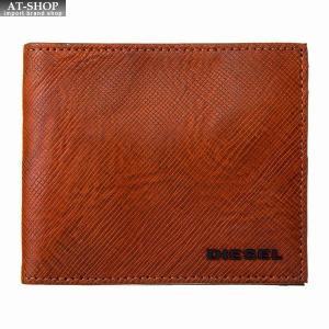 ディーゼル DIESEL 財布サイフ 二つ折り財布 X05373 P0517 H6710 ブラウン|at-shop