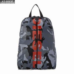 ディーゼル DIESEL バッグ バックパック リュック X05479 P1705 H6180 GREY CAMOU|at-shop