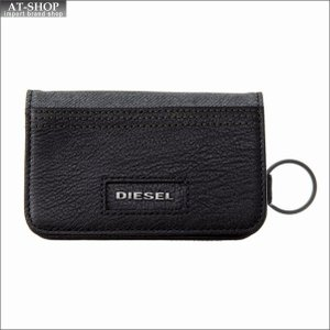 ディーゼル DIESEL キーケース X05574 PR185 H6027 GREY DENIM-BLACK|at-shop