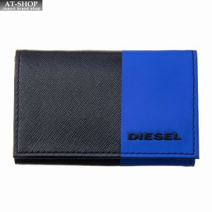 ディーゼル DIESEL キーケース X05972 P0517 H3062 Black-Mazarine Blue|at-shop