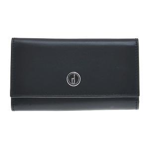 DUNHILL ダンヒル センチュリーマン スムースカーフ 6連式キーケース LL5020 ブラック|at-shop