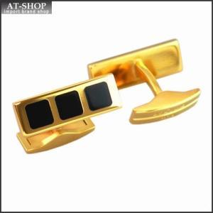 S.T. DUPONT エス・テー・デュポン カフス カフスボタン 5066N ゴールドプレート ラッカー仕上げ|at-shop