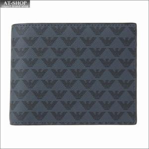 エンポリオ・アルマーニ EMPORIO ARMANI 財布サイフ 二つ折り財布 Y4R065 YG91J 81072|at-shop