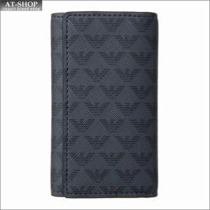 エンポリオ・アルマーニ EMPORIO ARMANI キーケース Y4R068 YG91J 81072 BLACK|at-shop