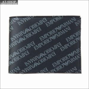 エンポリオ・アルマーニ EMPORIO ARMANI 財布サイフ 二つ折り財布 Y4R165 YLO7E 86526|at-shop
