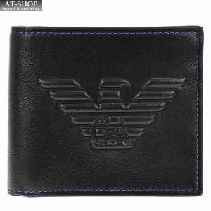 エンポリオ・アルマーニ 二つ折り財布  Y4R167-YG90J/81072 at-shop
