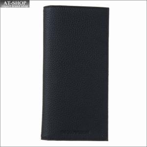 エンポリオ・アルマーニ EMPORIO ARMANI 財布サイフ 二つ折り長財布 Y4R170 YDB9E 81072 BLACK|at-shop