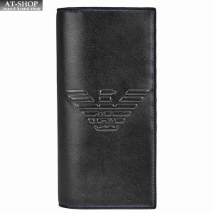 エンポリオ・アルマーニ 二つ折り長財布 Y4R170-YG90J/81072 at-shop