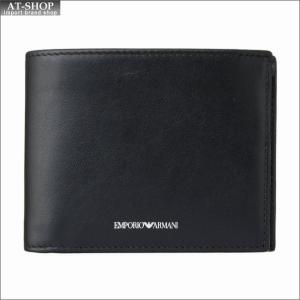 エンポリオ・アルマーニ EMPORIO ARMANI 財布サイフ 二つ折り財布 YEM122 YBN4V 80001|at-shop