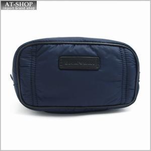 エンポリオ アルマーニ バッグ EMPORIO ARMANI YEMM68 YH638 88017 BLUE/NERO セカンドバッグ|at-shop