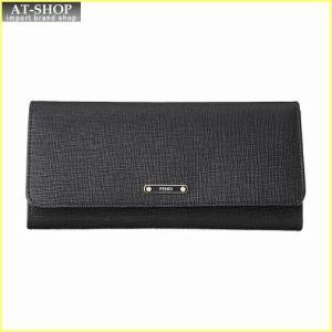 FENDI フェンディ 財布サイフ 二つ折り長財布 8M0251 F09 F0KUR ブラック|at-shop