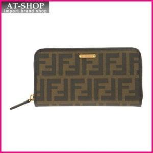 FENDI フェンディ 財布 8M0299-00GRP/F0A72 長財布 ラウンドファスナー|at-shop