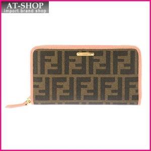 FENDI フェンディ 財布 8M0299-00GRP/F0V37 長財布 ラウンドファスナー|at-shop