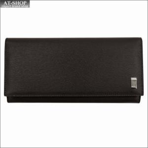 DUNHILL ダンヒル 財布サイフ SIDECAR 二つ折り長財布 FP1010E ブラウン|at-shop