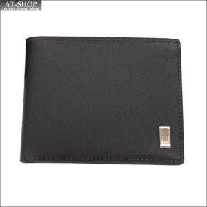 DUNHILL ダンヒル 財布サイフ SIDECAR 二つ折り財布 FP3020E ブラウン|at-shop