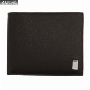 DUNHILL ダンヒル 財布サイフ SIDECAR 二つ折り財布 FP3070E ブラウン|at-shop