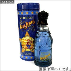 VERSACE ヴェルサーチ 香水 フレグランス ヴェルサス ブルージーンズ EDT/75mL|at-shop