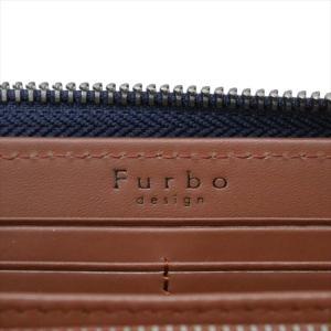 Furbo design フルボデザイン 財布サイフ カモフラージュ レザー ラウンドファスナー長財布 FRB131 NAVY ネイビー|at-shop|04