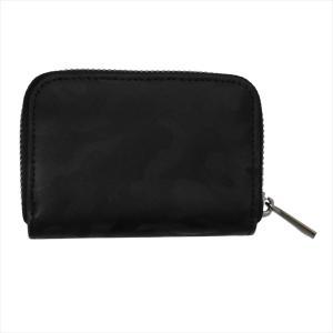 Furbo design フルボデザイン 財布サイフ カモフラージュ レザー ラウンドファスナー小銭入れ FRB135 BLACK ブラック at-shop 02