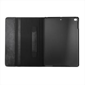 Furbo design フルボデザイン アイパッドケース カモフラージュ レザー ipadケース(ipad2017対応) FRB138 BLACK ブラック|at-shop|03