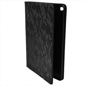 Furbo design フルボデザイン アイパッドケース カモフラージュ レザー ipadケース(ipad2017対応) FRB138 BLACK ブラック|at-shop|05