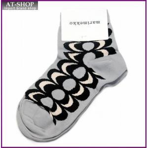 マリメッコ 042643 913 l.grey/black/peach KASTAA Kaivo カイヴォ レトロモダンな泉の柄 ソックス 靴下 at-shop
