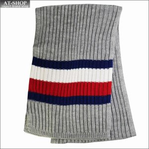 TOMMY HILFIGER トミー・ヒルフィガー マフラー H8C8-3248-070 CHARCOAL HEATHE 2018AW  h8c83248-070|at-shop