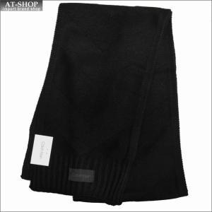 Calvin Klein カルバンクライン マフラー HKC83288-001 BLACK ブラック|at-shop