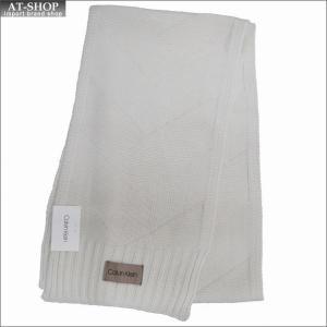 Calvin Klein カルバンクライン マフラー HKC83288-100 WHITE ホワイト|at-shop