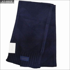 Calvin Klein カルバンクライン マフラー HKC83288-410 DARK BLUE ダークブルー|at-shop