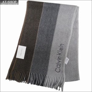 Calvin Klein カルバンクライン マフラー HKC83406-200 BROWN ブラウン|at-shop