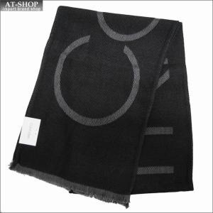 Calvin Klein カルバンクライン マフラー HKC83621-001 BLACK ブラック|at-shop